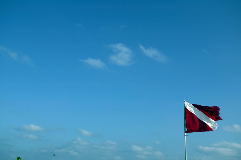 The Diving Flag