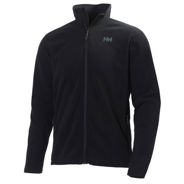 hh daybreaker fleece jacket black