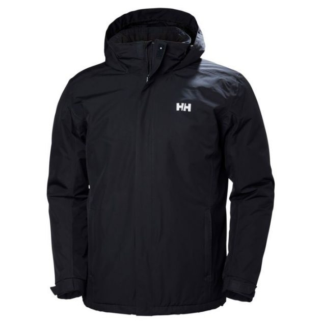 hh dubliner insulated jacket navy