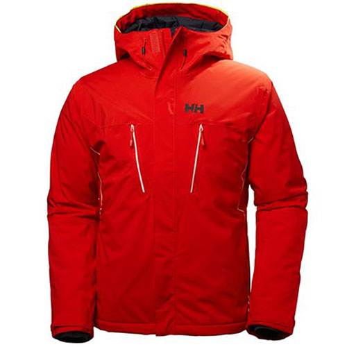 hh charger jacket red