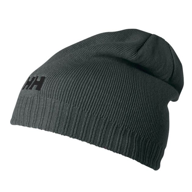 helly hansen beanie grey