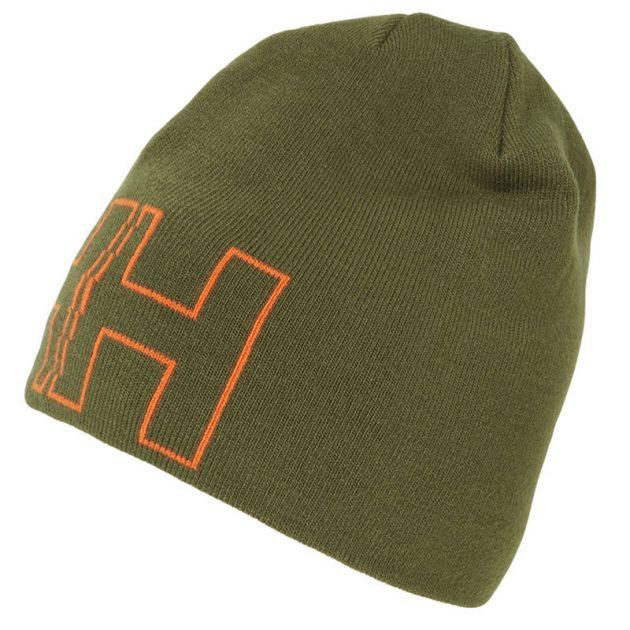 outline beanie green