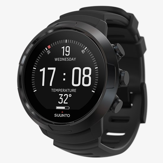 suunto d5 all black with usb