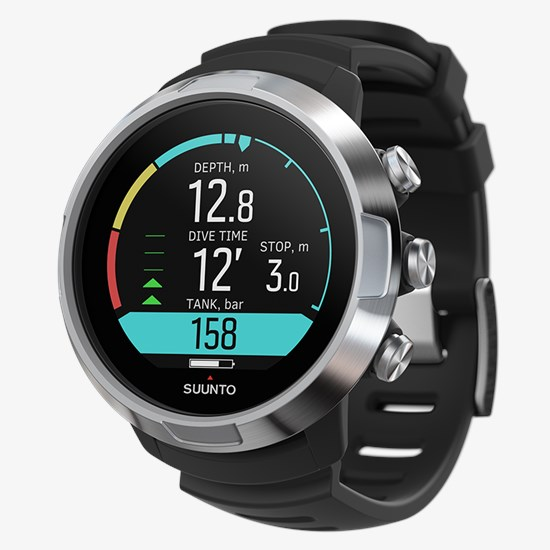 suunto d5 black with usb