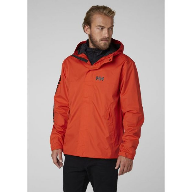 ERVIK JACKET HELLY HANSEN RED