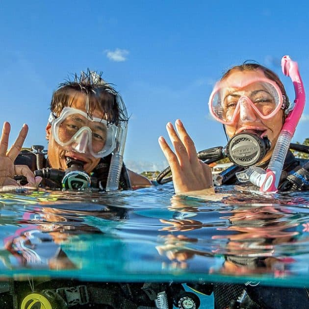 PADI ENTRY LEVEL COURSES