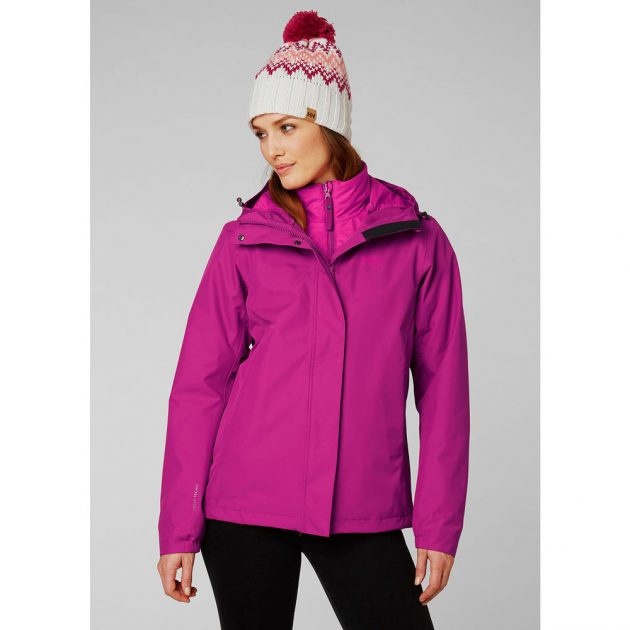 HELLY HANSEN W SQUAMISH JACKET PURPLE