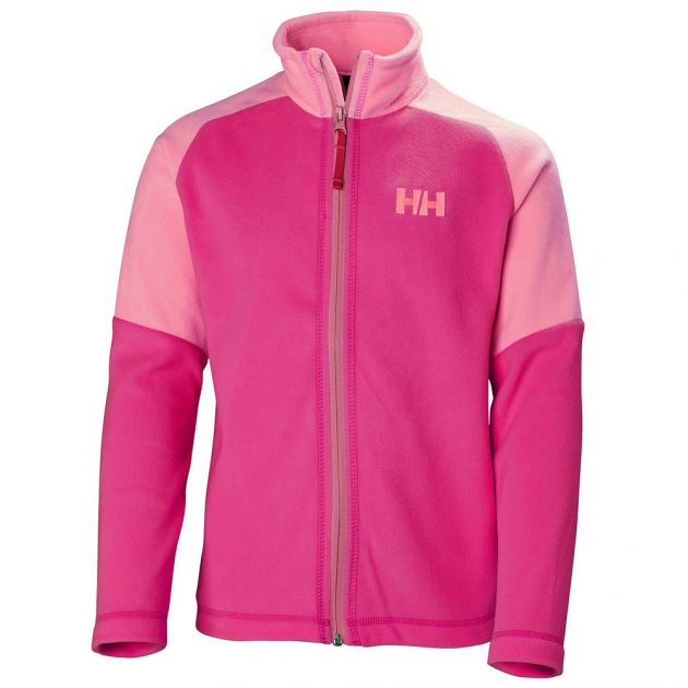 Junior Daybreaker jacket Helly Hansen pink fleece