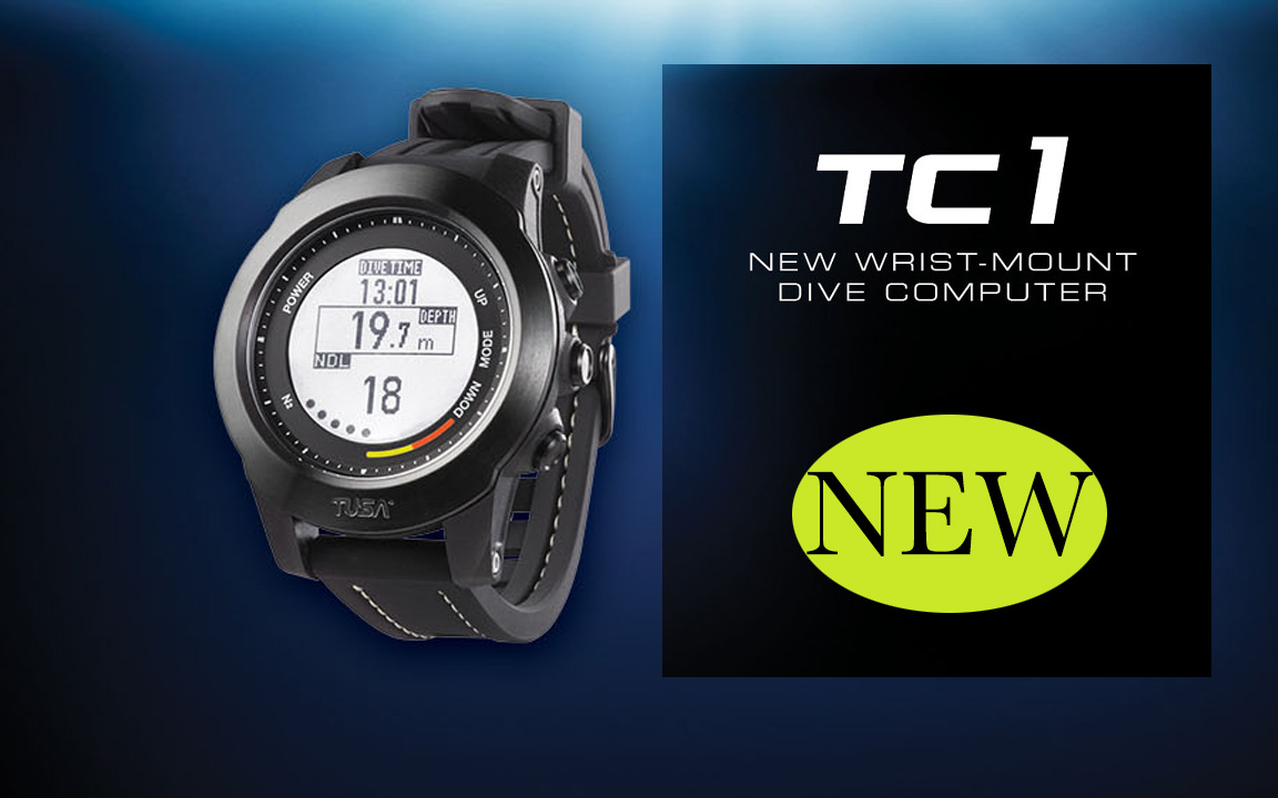 New Wrist Dive Computer by Tusa!